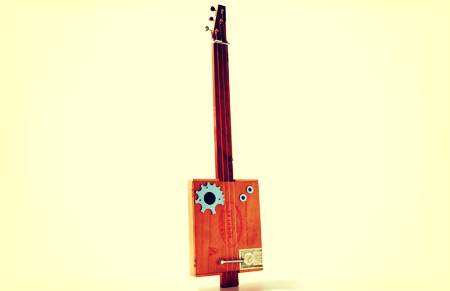 Soup Hunter Cigar Box guitar